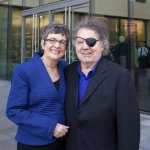 Sue McCollum and Dale Chihuly